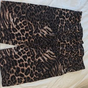 cheetah print biker shorts